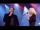 "Andrea Bocelli & Christina Aguilera ""Somos Novios"" on stage"
