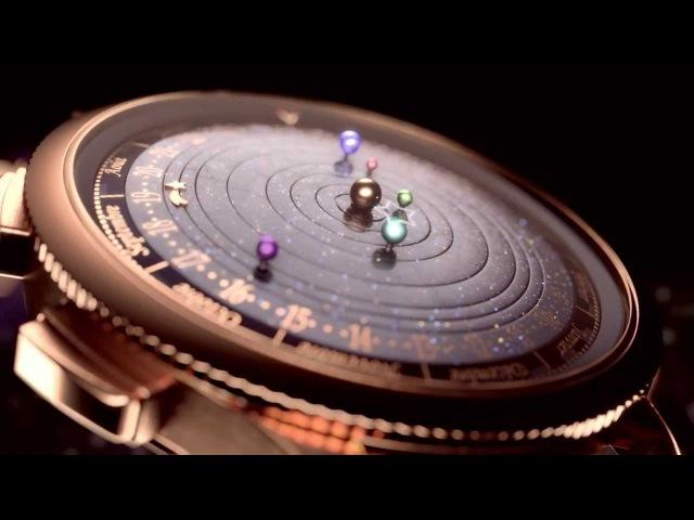 Van Cleef Arpels Complication Poetique Midnight Planetarium Watch | aBlogtoWatch