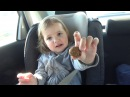 VLOG едем на авто остановки распаковка Киндер сюрприза Winx Club go by car unboxing Kinder surprise