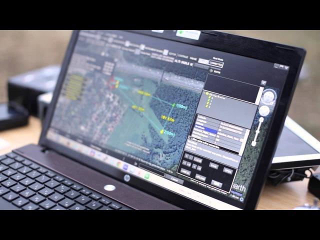 DJI iOS 2,4Ghz Ground Station - обучение полетам по точкам на русском языке