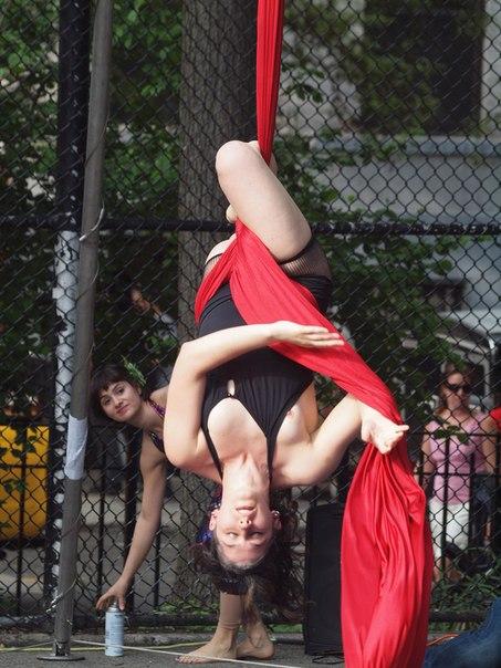 Засвет гимнастки