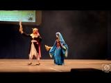 "Kamiyah (Москва), Kaylah (Санкт-Петербург) - дефиле по ""Magi the Labyrinth of magic"", персонажи Alibaba, Aladdin"