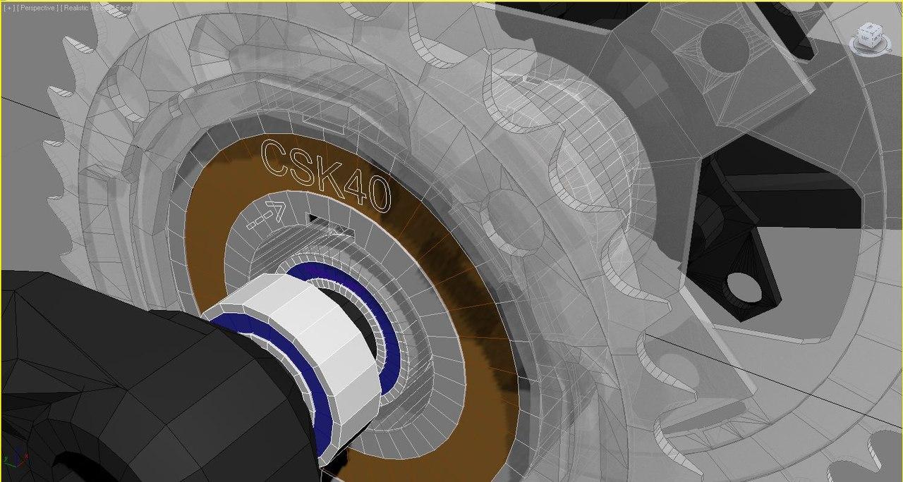 Механическая развязка подвесного мотора и педалей