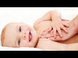 Детский массаж ребенку в 4-6 месяцев. Оздоровительный массаж и гимнастика для детей