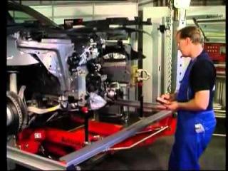 Кузовной стапель   вытягивание кузова автомобиля