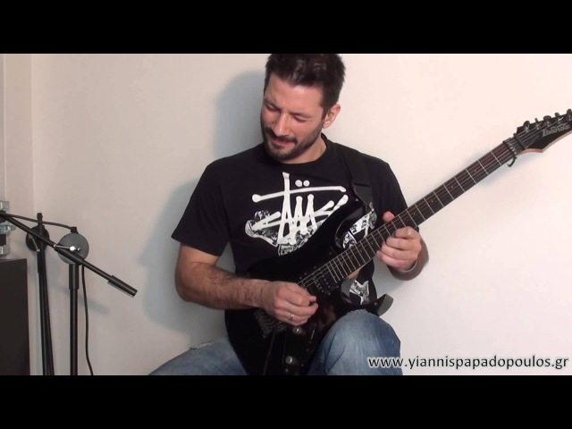 ╪★1st Place Winner★ Yiannis Papadopoulos Ibanez Guitar Solo Competition 2013╪