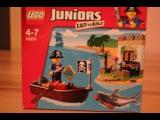 Обзор Лего Джуниорс - Охота за сокровищами, 10679. Review Lego Juniors-Treasure hunt, 10679.