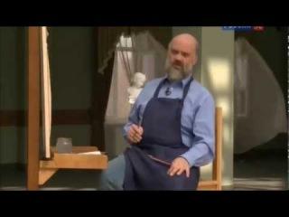 Сергей Андрияка - Рисуем архитектуру зимой.