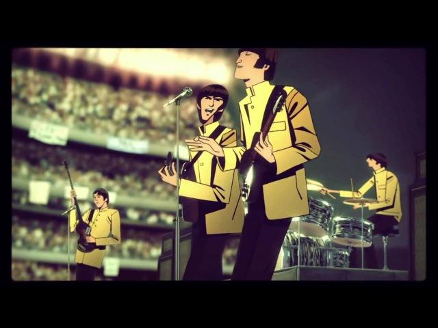 The Beatles Классный мультРисовал художник группы Gorillaz)