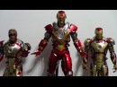 hot toys heartbreaker and mark 42 from iron man 3 review