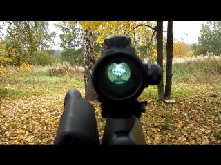 Вепрь 12 Молот ( Vepr 12 ) ВПО 205.Тактический штурмовой карабин. Обзор и стрельбы