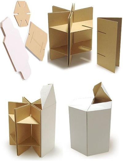 Как сделать комод из картона своими руками поэтапно фото