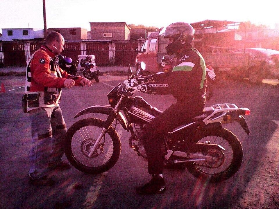 Мотопрактика мотошкола