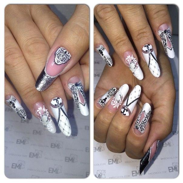 Дизайн ногтей эми 2017
