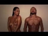 Bob Sinclar et Laly de Secret Story dans un sauna (version non censurée)