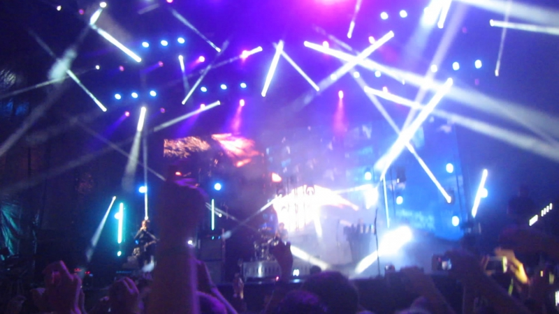 Muse Plug In Baby @ Park Live Moscow 19 06 2015
