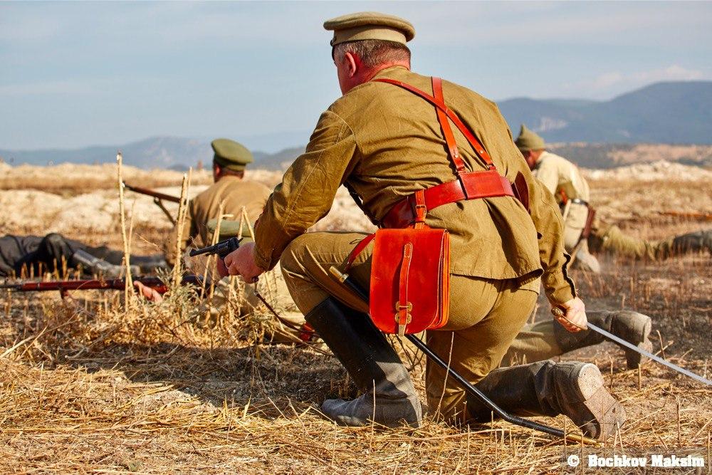 Крымский военно-исторический фестиваль 2015.