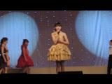 Отчетный концерт 2015,ОЧЕНЬ талантливая девочка-АЛСУ