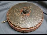 Коп по войне - подрыв немецкой противотанковой мины Tmi 35 / Searching with Metal Detector