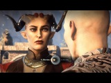 Solas x Female Qunari Romance Kiss in the Fade Dragon Age Inquisition (Bi Solas Mod)