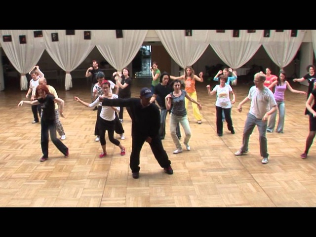 Joy Dance Camp 2011 with Steven Mitchell - authentic jazz, solo blues and movement class
