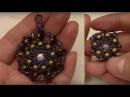 Handmade Jewelry RounDuo Pendant