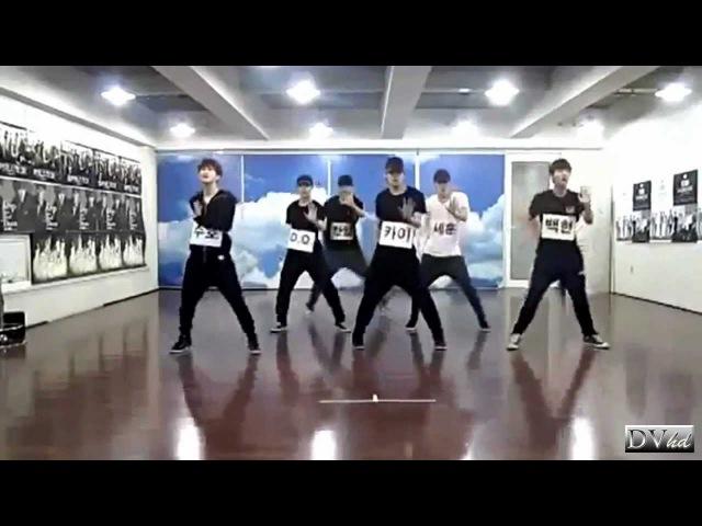 EXO-K - MAMA (full dance practice) DVhd