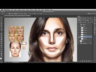 южContour Shaping - Photoshop Makeup Tutorial\\ujk,