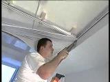 Как делать натяжной потолок