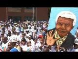 ЮАР марш в память о Нельсоне Манделе
