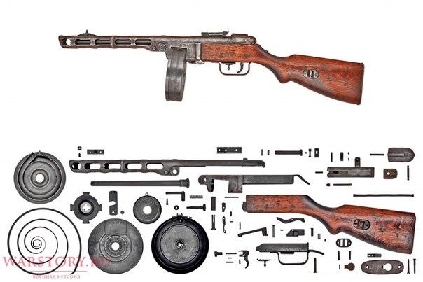 Анатомия раннего ППШ-41 с