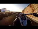 Kawasaki VN900 Classic ride in Valencia