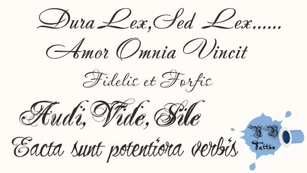 Эскизы тату для девушек надписи на латыни с переводом