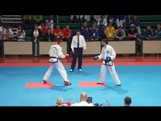 Dmytro Pilinkevych (Ukr) V Luke Wakely (Wal) Male -85Kg Sparring Final