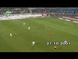 Beşiktaş 2-2 Galatasaray (21 Ekim 2001)