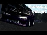 SLRR | Nissan Silvia s14, Tsukuba circuit