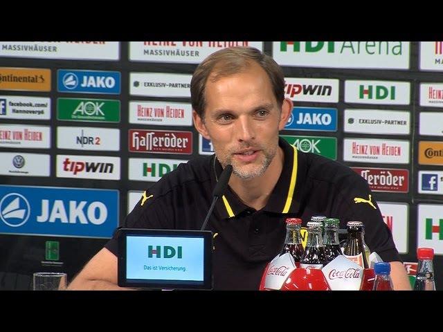 Pressekonferenz: Mit Fleiß und Überzeugung zum Sieg   Hannover 96 - BVB 2:4