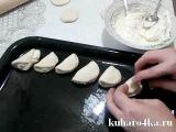 Ленивые пирожки с творогом из дрожжевого теста