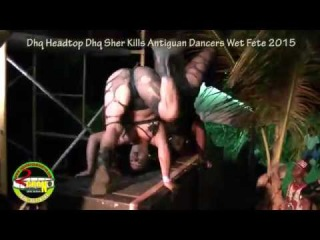 Dhq Headtop Dhq Sher Kill Antigua Dancers 2015