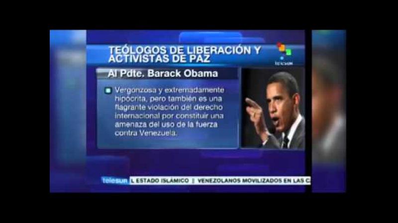 Obispos y teólogos se solidarizan con Venezuela y fustigan a Obama ¿lo leyeron en algún sitio