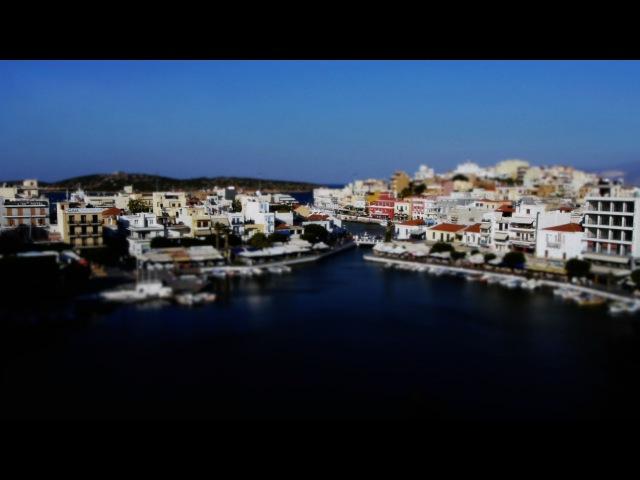 Cute Creta (Time-Lapse ,Tilt-Shift)