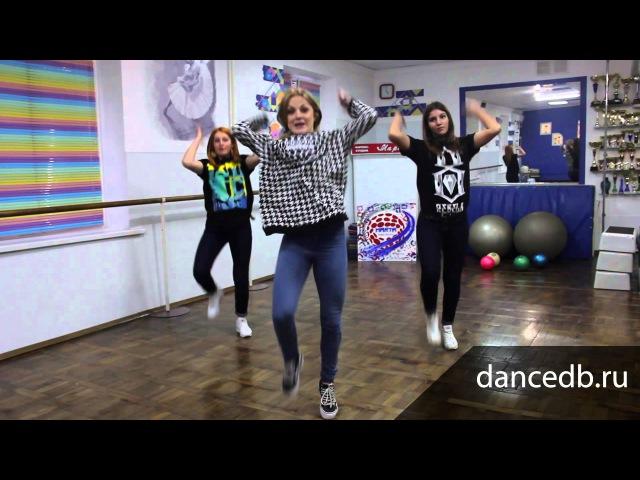 Видео уроки дэнсхолл (dancehall) №2
