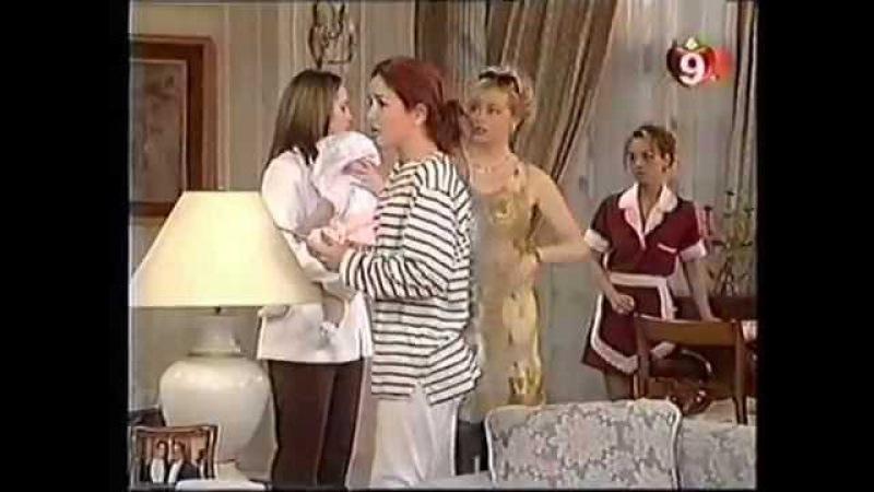 Natalia Oreiro . Fragmentos Capitulos de Ricos y Famosos (1997)