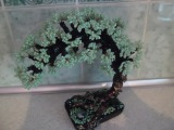 Зеленое дерево из бисера урок №1