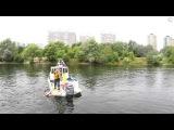 Спасение на водах от МЧС на праздновании дня реки