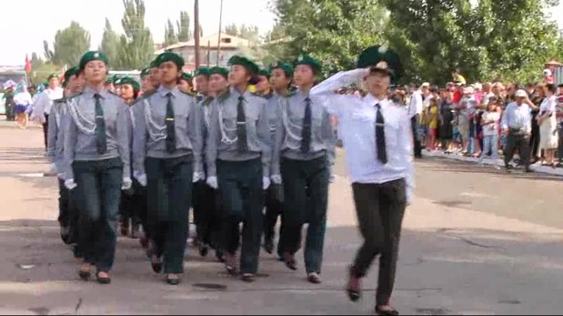 парад в Чундже 9 мая 2015 год