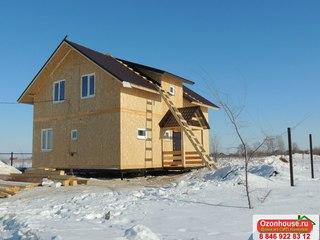 строительство домов из сип панелей под ключ в московской области