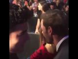 #50MasBellos Встреча Майте Перрони и Уильяма Леви.