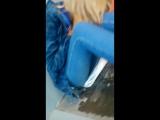 обосанная дашка блюет