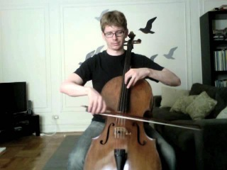 POPPER PROJECT #39: Joshua Roman plays Etude no. 39 for cello by David Popper